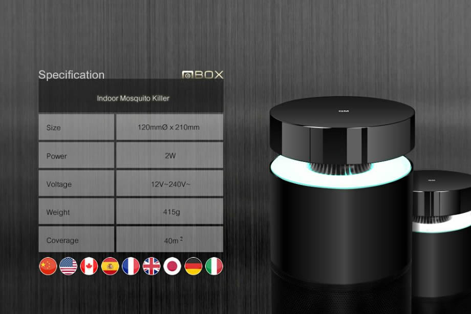 MBOX滅蚊燈
